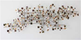 C JERE ABSTRACT WALL SCULPTURE