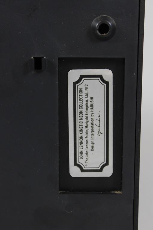 JOHN LENNON KINETIC NEON COLLECTION RABBIT LIGHT - 5