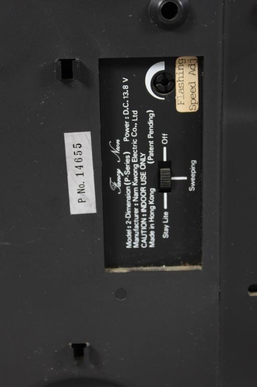 JOHN LENNON KINETIC NEON COLLECTION RABBIT LIGHT - 6