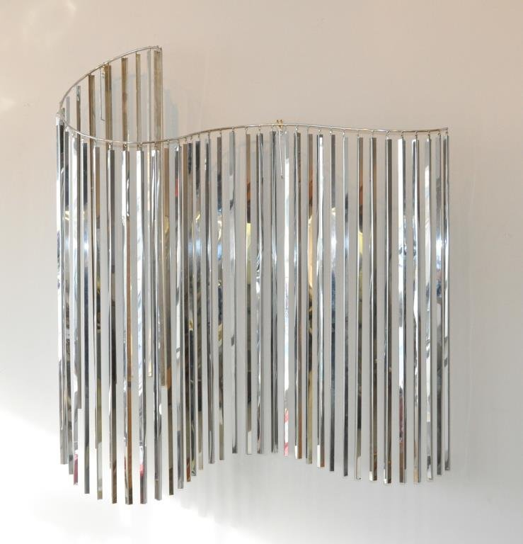 C. JERE KINETIC WAVE WALL SCULPTURE
