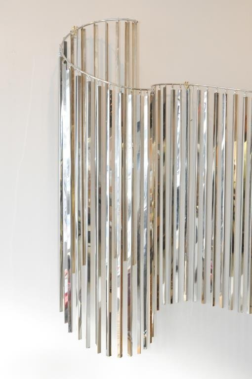 C. JERE KINETIC WAVE WALL SCULPTURE - 2
