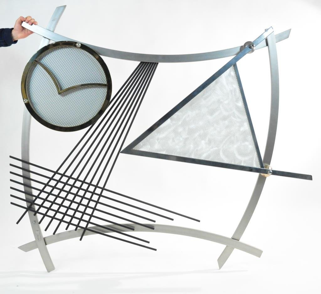 LARGE JEFF MEHRINGER 'ECLIPSE' WALL SCULPTURE