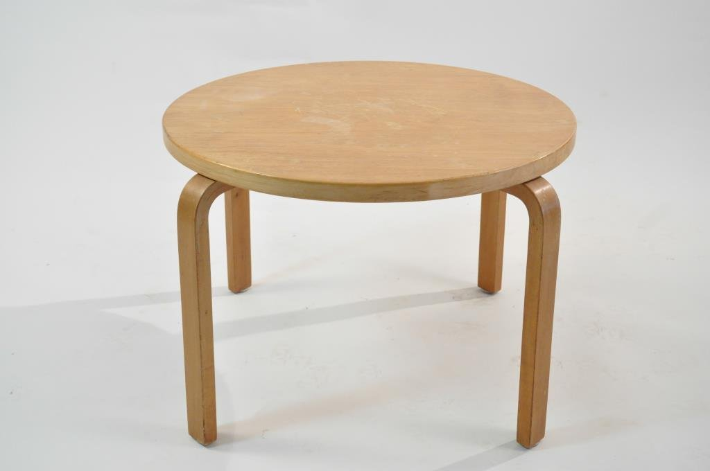 EARLY ALVAR AALTO '70' LARGE SIDE TABLE