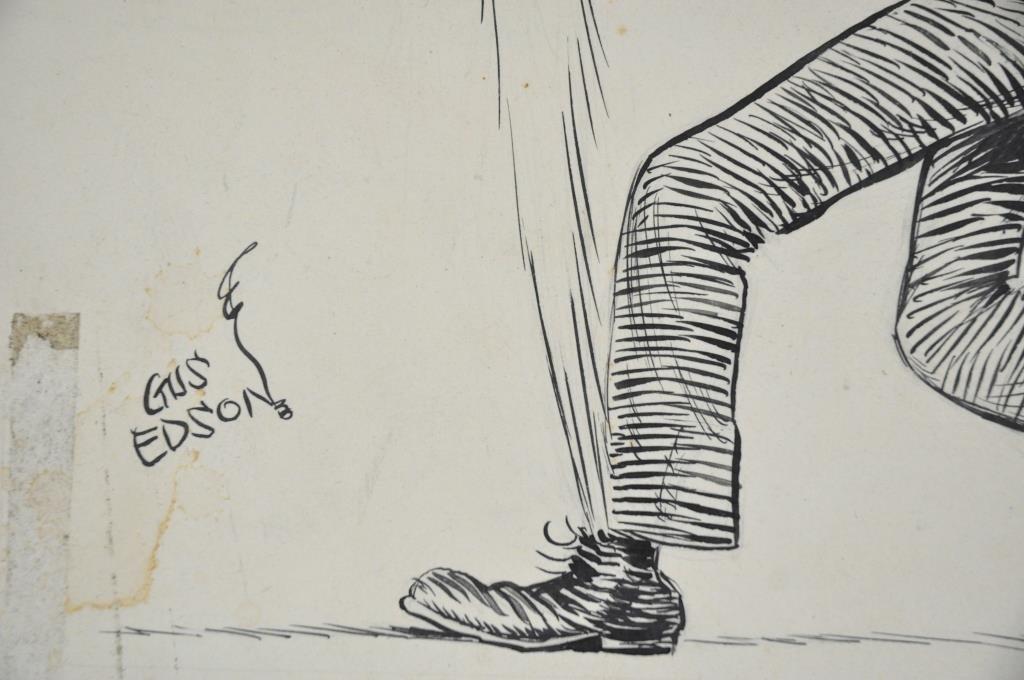 GUS EDSON ORIGINAL ILLUSTRATION 'THE GUMPS' - 2