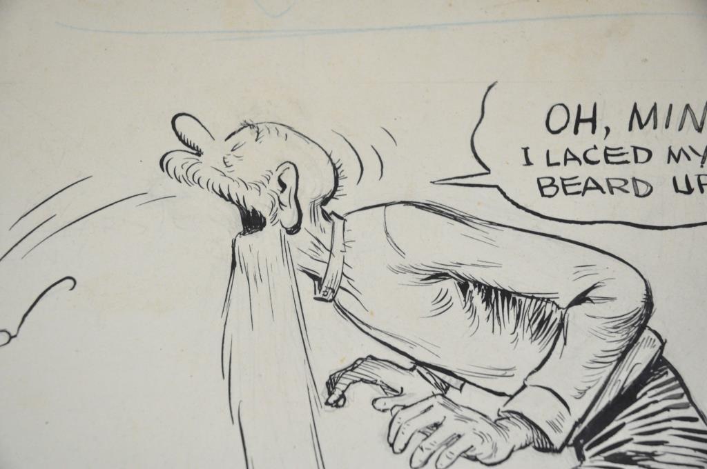 GUS EDSON ORIGINAL ILLUSTRATION 'THE GUMPS' - 3