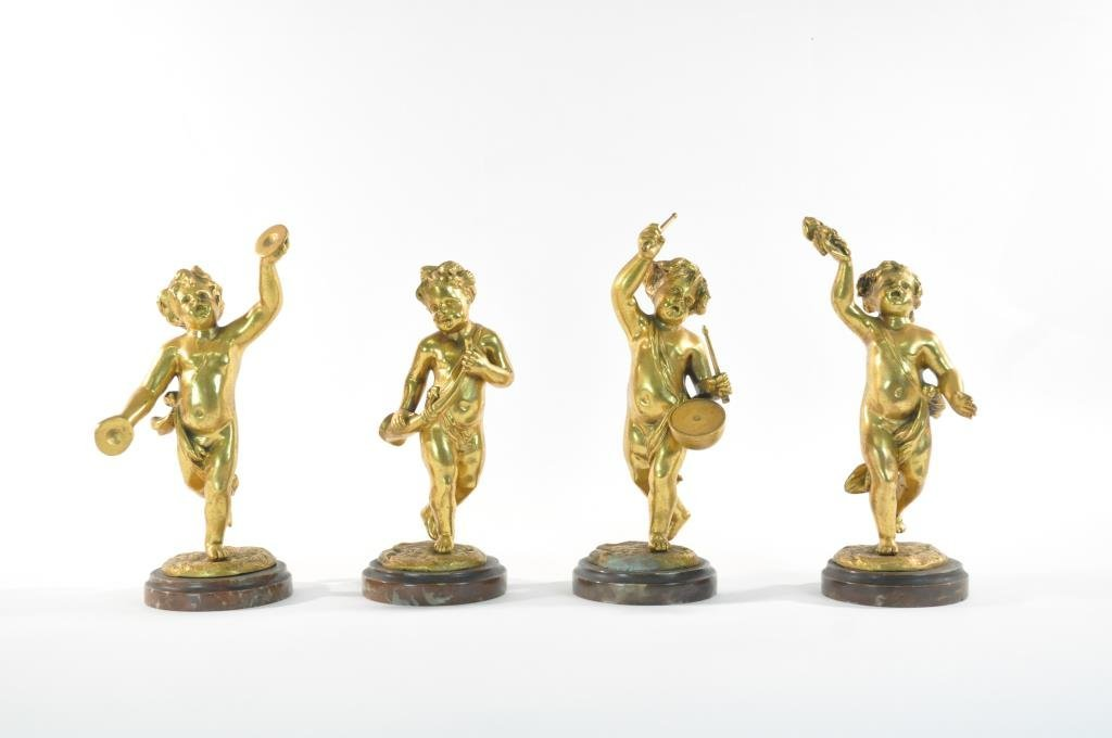 CLAUDE MICHEL CLODION (FRENCH, 1738-1814) BRONZES