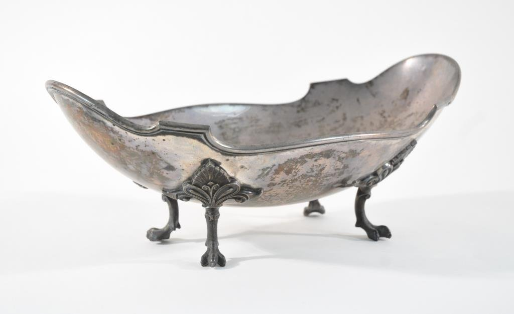 STERLING SILVER FOOTED CENTERPIECE BOWL