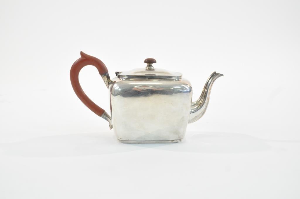 ENGLISH STERLING SILVER TEA POT