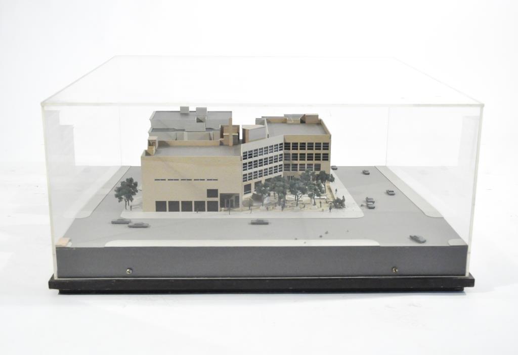 1970S A.W. GELLER ARCHITECTURAL MODEL