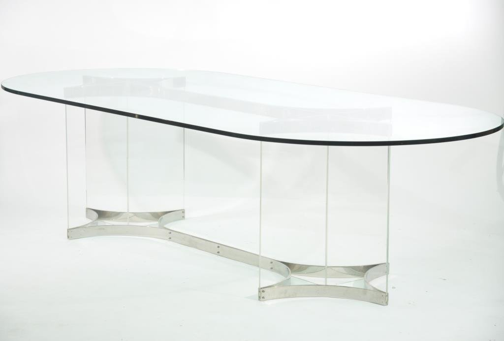 ALESSANDRO ALBRIZZI RACE TRACK DINING TABLE
