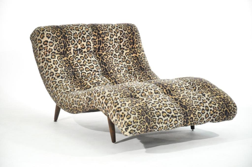 ADRIAN PEARSALL DOUBLE WIDE CHAISE LOUNGE