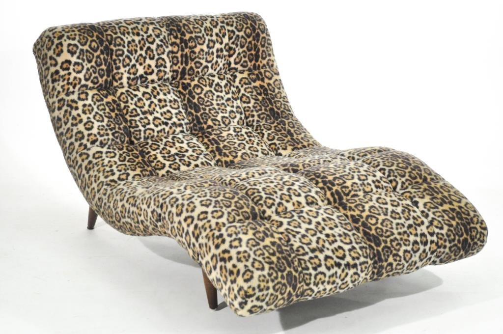 ADRIAN PEARSALL DOUBLE WIDE CHAISE LOUNGE - 2