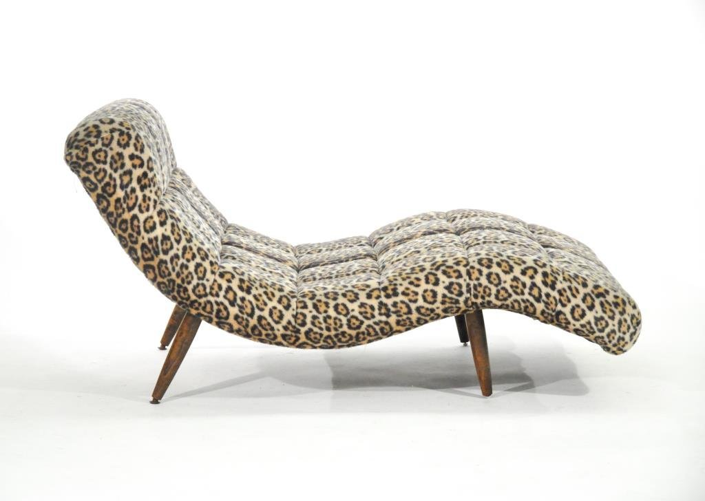 ADRIAN PEARSALL DOUBLE WIDE CHAISE LOUNGE - 7