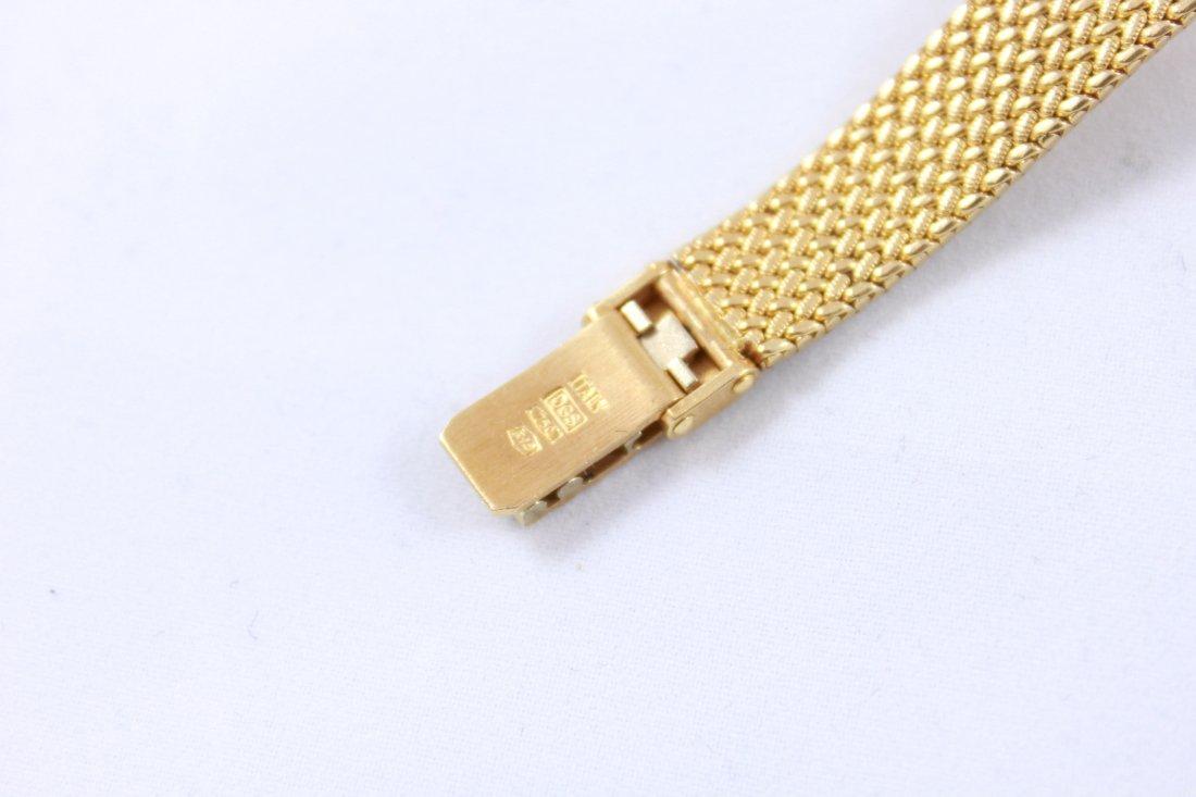 18K GOLD & DIAMOND BAUME MERCIER LADIES WATCH - 10