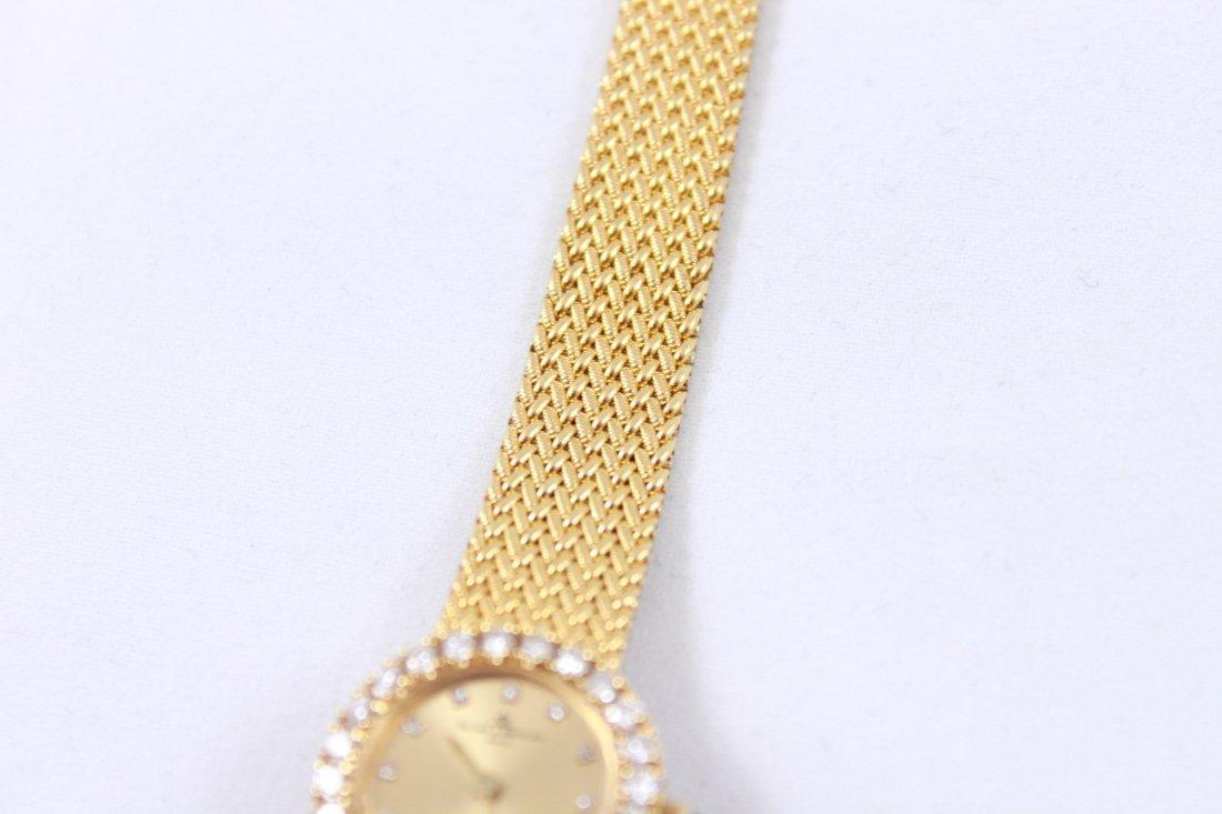 18K GOLD & DIAMOND BAUME MERCIER LADIES WATCH - 4