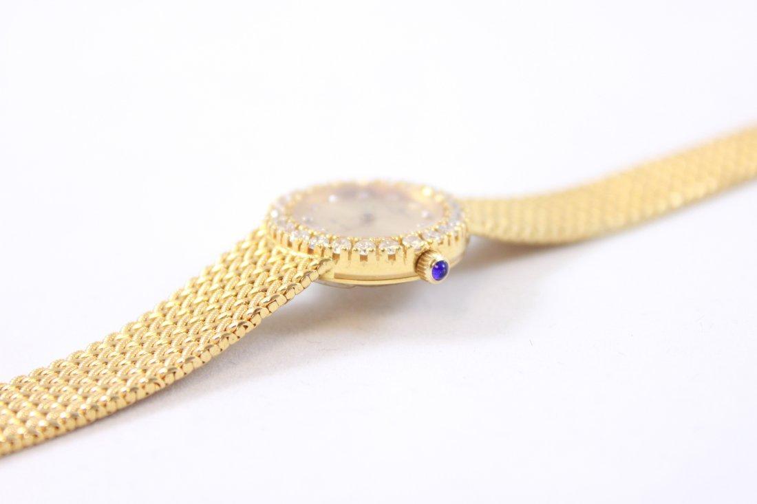 18K GOLD & DIAMOND BAUME MERCIER LADIES WATCH - 8