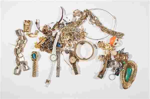 JEWELRY GROUPING INCL. GOLD & SILVER