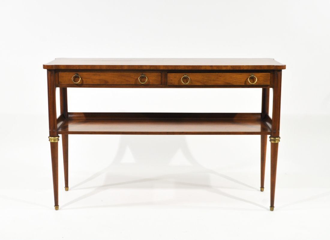BAKER FURNITURE CONSOLE TABLE