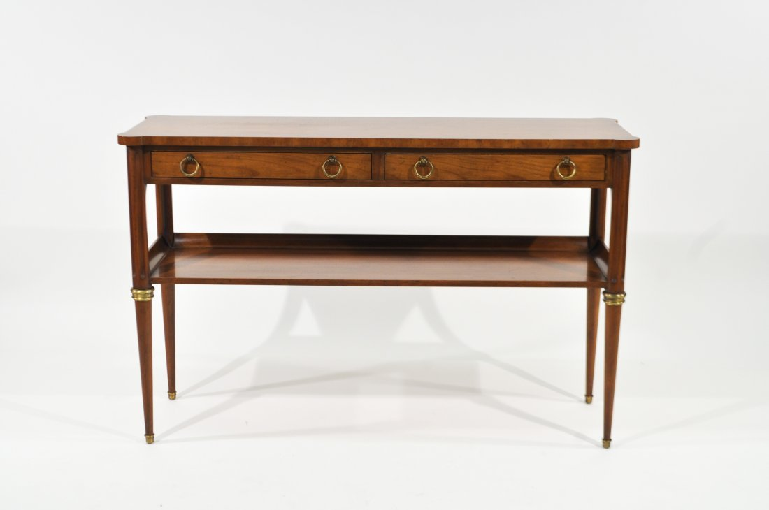 BAKER FURNITURE CONSOLE TABLE - 2