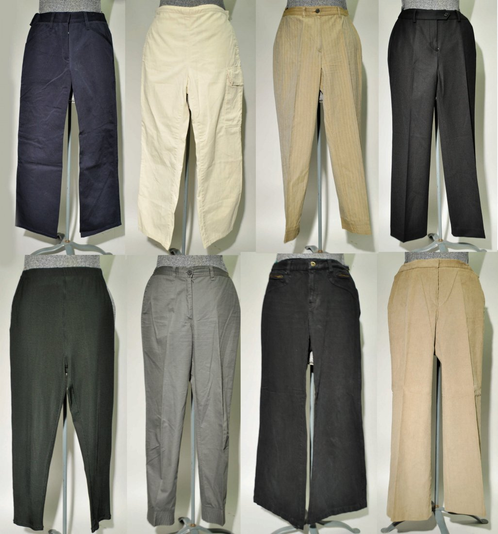 GROUPING OF LADIES COUTURE SLACKS