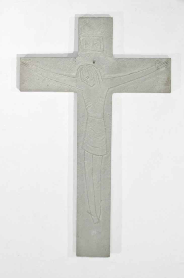 TOMAS PENNING (1905-1982) CARVED CROSS