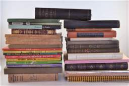 GROUPING OF MISC BOOKS
