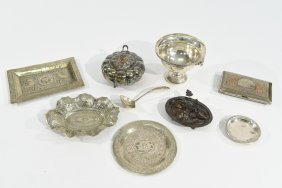 Grouping Of Sterling & Silver Plated Items