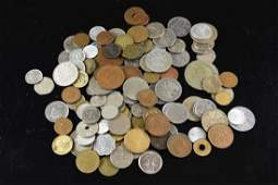 GROUPING OF FOREIGN COINS