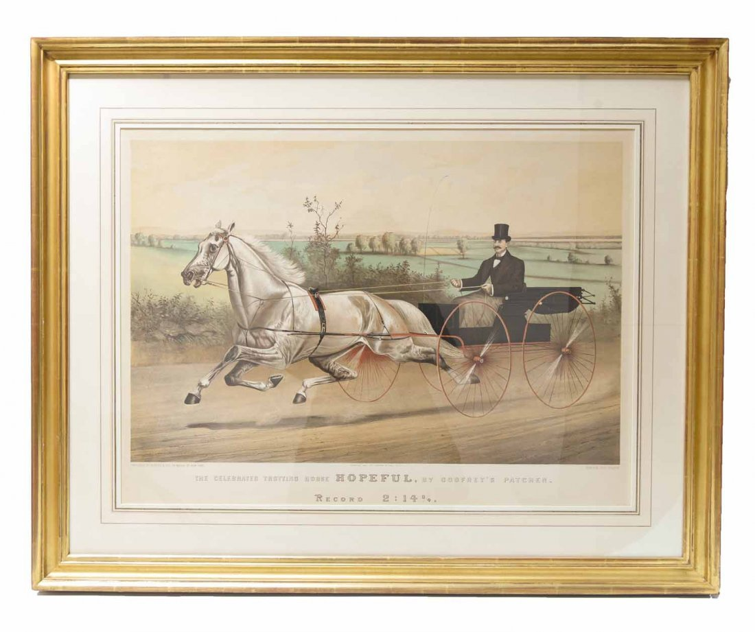 CURRIER AND IVES GENRE PRINTS