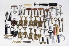 Corkscrew & Assorted Opener Grouping