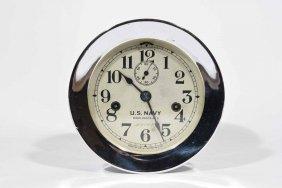 U.s. Navy Deck Clock No. 3