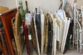 Wooden Headboards And Foot Boards Some With Turned