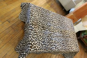 Cheetah Pattern Hide Throw Made In Brazil