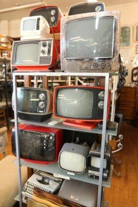 """Retro And Vintage Tvs Incl """"ktv"""", """"sylvania"""","""