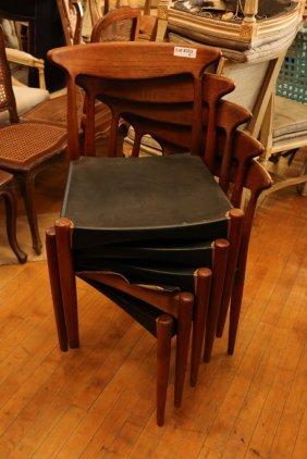 (5) Hans Wegner Heart Chairs Danish