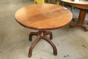 Thonet Style Bentwood Table