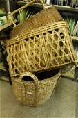 Grouping of baskets incl one really large