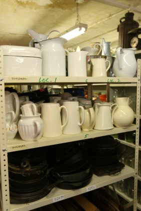 Grouping Of Cast Iron Along With Ironstone And