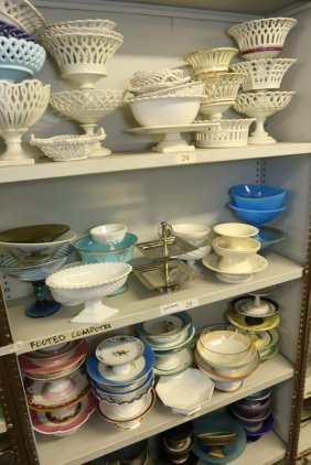 Grouping Of Compotes Incl French Porcelain