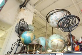 Grouping Of Globes.