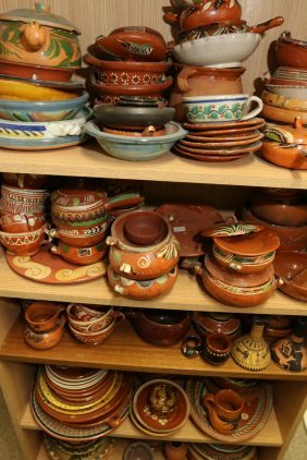 Grouping Of Mexican And South American Pottery.