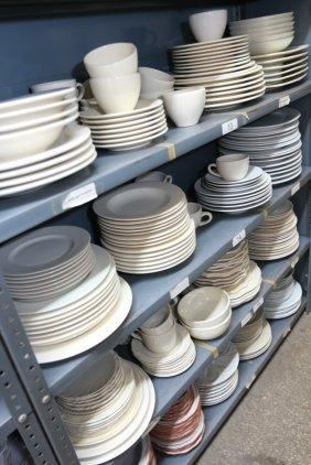 Grouping Of Porcelain And China Incl Oyster Plates