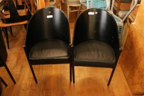 Pair Of Philippe Stark Chairs.
