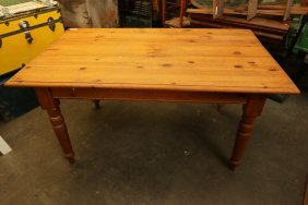 Large Pine Harvest Table.