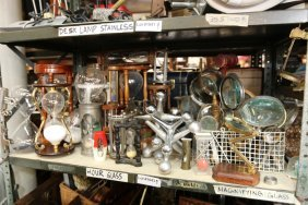 Grouping Of Hour Glasses, Magnifing Glasses,