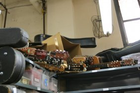 Large Lot Of Musical Instruments Incl Acoustic