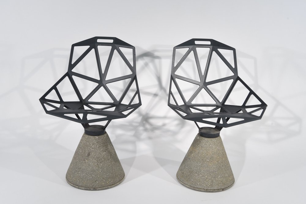"""PAIR OF KONSTANTIN GRCIC; MAGIS """"CHAIR ONE"""""""