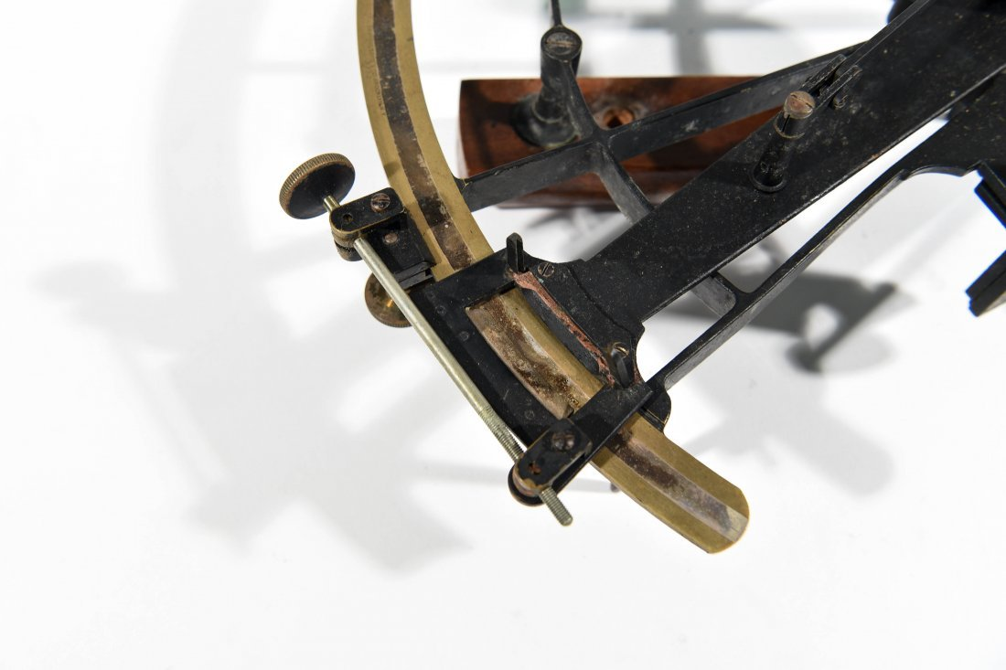 F. E. BRANDIS AND SONS CO SEXTANT - 4