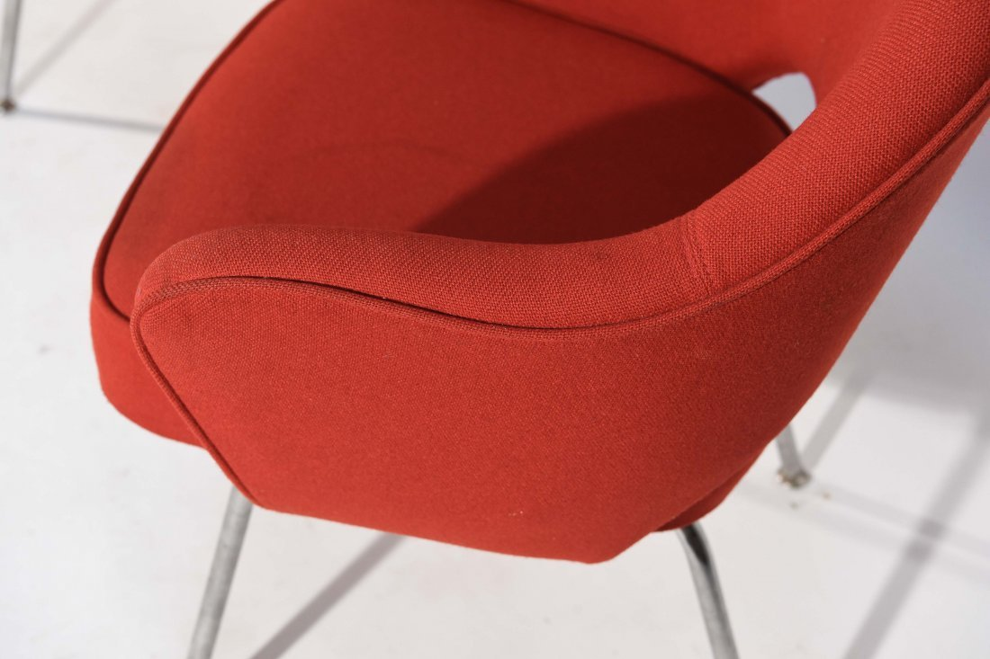 (2) EERO SAARINEN; KNOLL EXECUTIVE ARMCHAIRS - 5