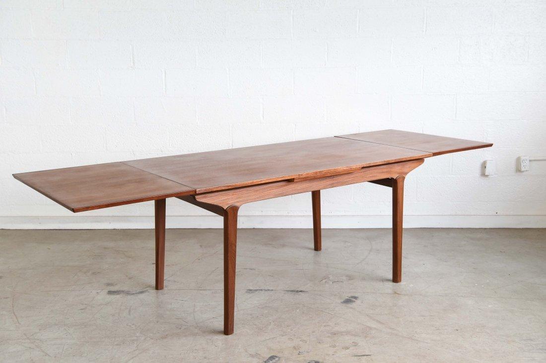 JOHS. ANDERSEN TEAK DINING TABLE - 6